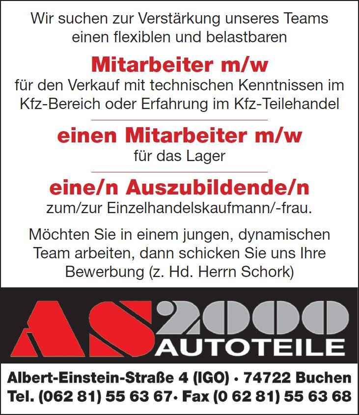AS 2000 Autoteile GmbH - Aktuelles